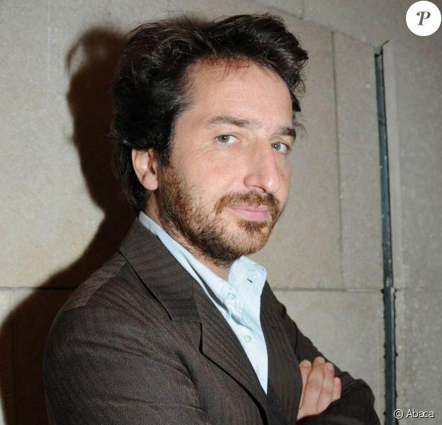 Edouard Baer à l'occasion de l'avant-première des Herbes Folles, qui s'est déroulée à la Cinémathèque Française de Bercy, à Paris, le 2 novembre 2009 !