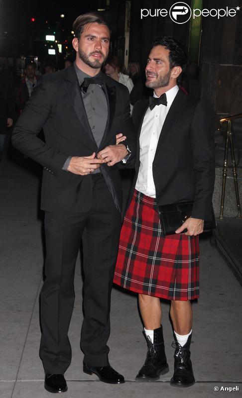 Marc Jacobs et Lorenzo Martone à la soirée ACE à New York le 2/11/09