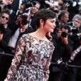 """Audrey Tautou - Montée des marches du film """"Grace de Monaco"""" pour l'ouverture du 67e Festival du film de Cannes. Le 14 mai 2014."""
