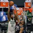 Tristan Thompson lors du match Los Angeles Clippers - Boston Celtics le 5 février 2021.