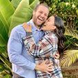Maya Stojan et son mari Todd Clever. Janvier 2021.