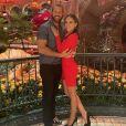 Maya Stojan et son mari Todd Clever. Février 2021.
