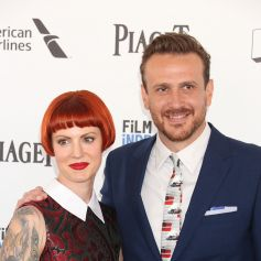 Jason Segel et sa petite amie Alexis Mixter à la soirée Film Independent Spirit Awards 2016 à Santa Monica, le 27 février 2016