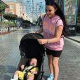 Camelia Benattia avec son fils Liaam - Instagram