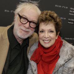Catherine Laborde et son mari Thomas Stern - Salon du livre de Paris. © Cédric Perrin/Bestimage