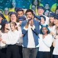 Jérémy Frérot - 33e édition du Téléthon au Parc de la Villette à Paris, le 7 décembre 2019. © Tiziano Da Silva/Bestimage
