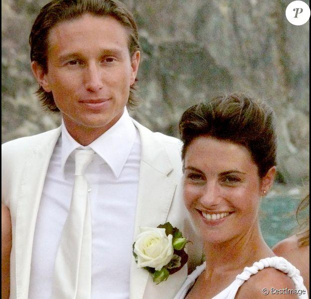 Mariage religieux d'Alessandra Sublet et Thomas Volpi en à Saint-Barthélémy