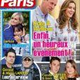 Couverture du nouveau numéro d'Ici Paris, paru le 12 mai 2021