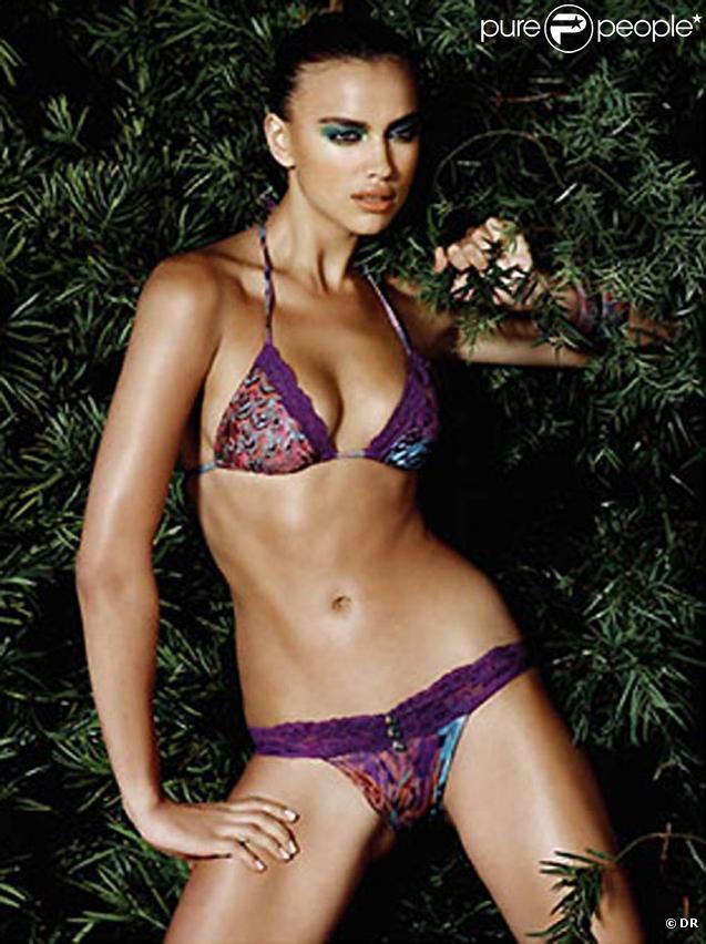 La superbe Irina Sheik pour la nouvelle collection Beach Bunny Swimwear 2010.