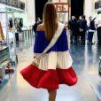 Amandine Petit, Miss France 2021 et candidate à Miss Univers, en mars 2021.