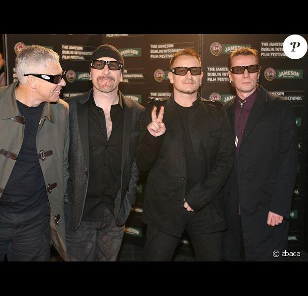 Bono et son groupe U2