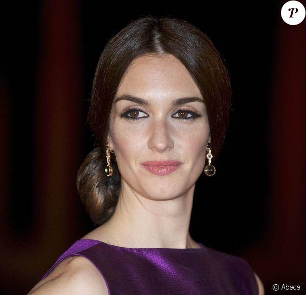 L'élégante Paz Vega, lors de l'avant-première de Triage, de Danis Tanovic, dans le cadre du 6e Festival Européen du Film de Séville, le 6 novembre 2009.