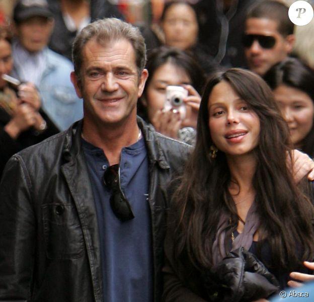 Mel Gibson et sa compagne Oksana