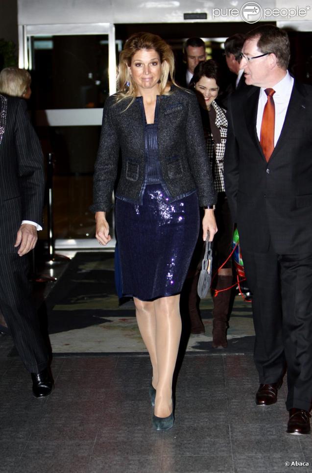 La Princesse Maxima des Pays-Bas en mode sortie le 9/11/09...