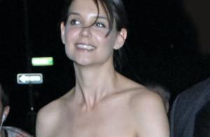 Quand Katie Holmes gambade très court vêtue... ce n'est pas pour rejoindre son mari !