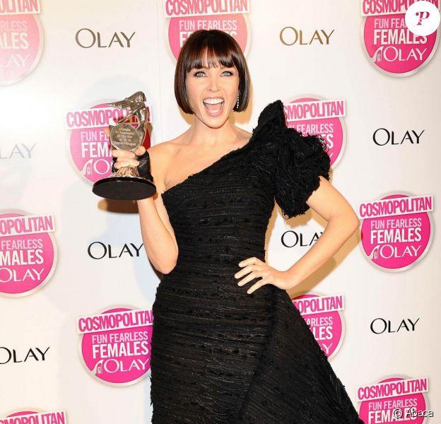 Dannii Minogue lors des Cosmopolitan Women of the year Awards au Banqueting House de Londres le 11 novembre 2009