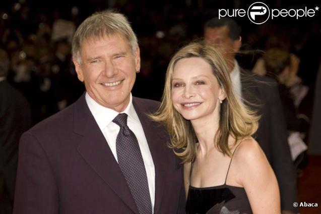 Harrison Ford et Calista Flockhart au festival de Deauville le 12 septembre 2009.
