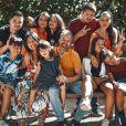 """La famille Gayat au casting de """"Familles Nombreuses, la vie en XXL"""" - Instagram"""