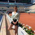 Alizé Lim à Roland-Garros, en juin 2021.