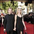 Jocelyn Quivrin et Alice Taglioni sur le tapis rouge du festival de Cannes en 2005