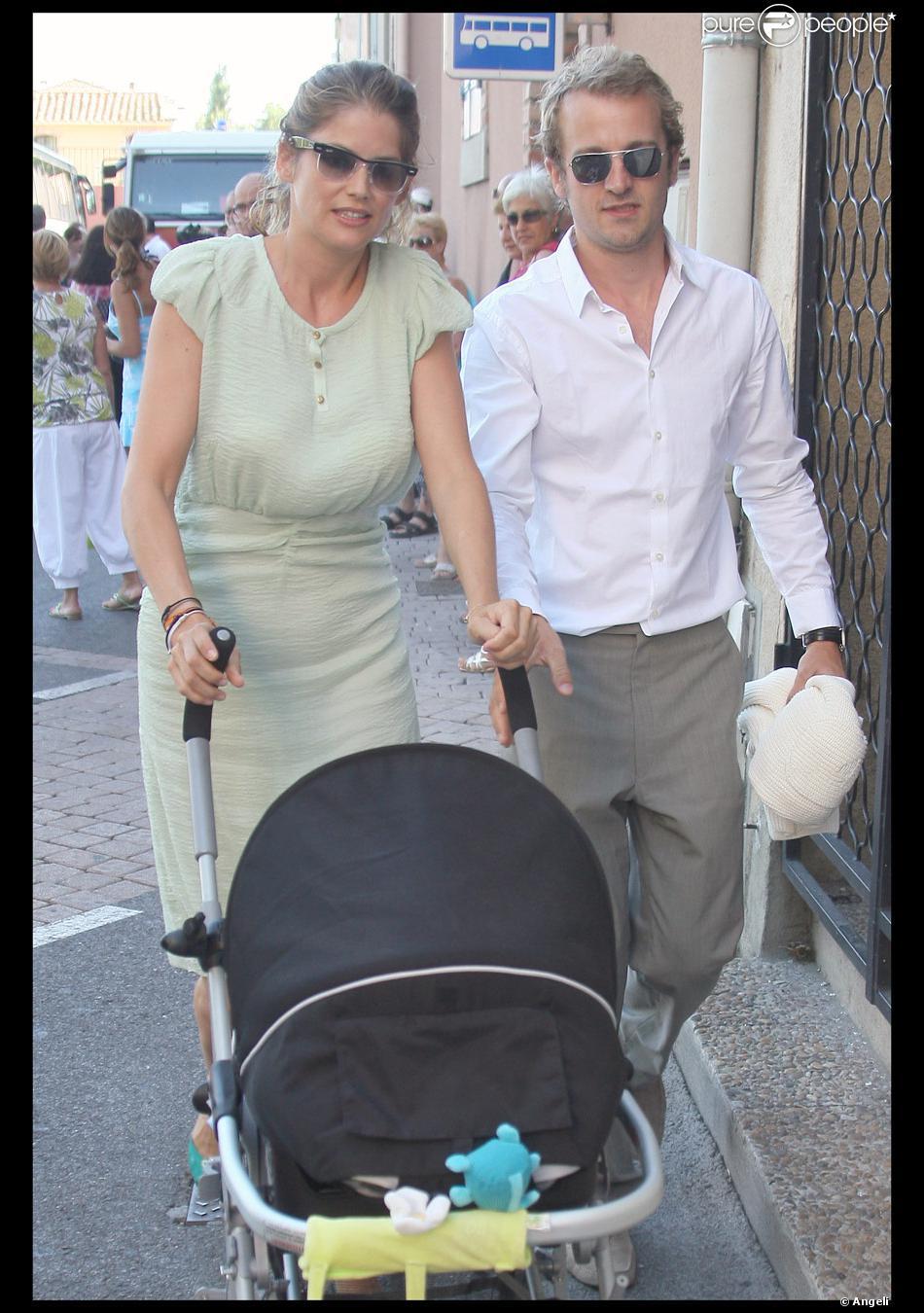 Jocelyn quivrin et alice taglioni et leur fils charlie for Jean dujardin et ses enfants