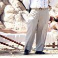 Jennifer Aniston se relaxe à la plage à Mexico