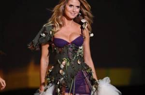 La superbe Heidi Klum a défilé, animé, irradié... le Victoria's Secret Fashion Show 2009 !