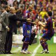 Thierry Henry lors de la rencontre Athletic Bilbao- FC Barcelone, le 21/11/09