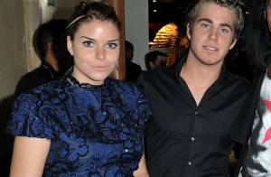 Sophie Tapie a passé la soirée avec son chéri Giovanni et son