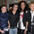 Sophie Tapie, Giovanni Castaldi, Vincent McDoom et Denise du Club 41 : jolie photo de famille !