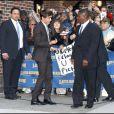 Zac Efron arrive au David Letterman Show à New York le 24 novembre 2009