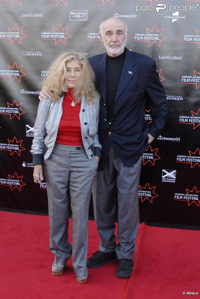 Sean Connery couple