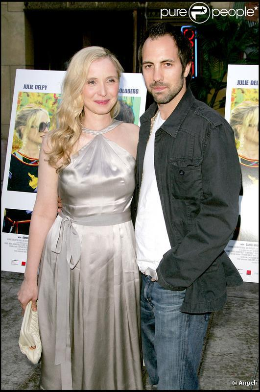 Julie Delpy with mysterious, Boyfriend Marc Streitenfeld