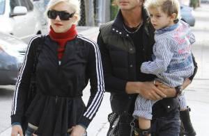 Gwen Stefani en balade avec... les hommes de sa vie ! Il n'y a que ça qui compte...