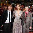 Ruper Grint, Emma Watson et Daniel Radcliffe