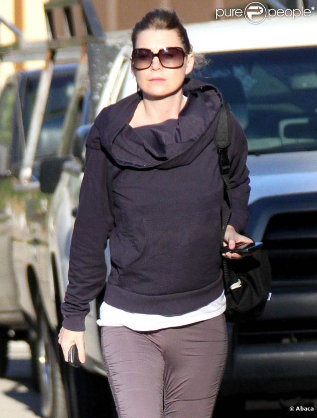 Ellen Pompeo à Los Angeles, le 1er décembre 2009