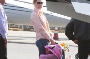Katherine Heigl : Elle prend un jet-privé avec son adorable Naleigh et ses Toutous... sans son chéri !