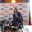 Amélie Mauresmo, très émue, annonce sa retraite sportive. Le 3 décembre 2009