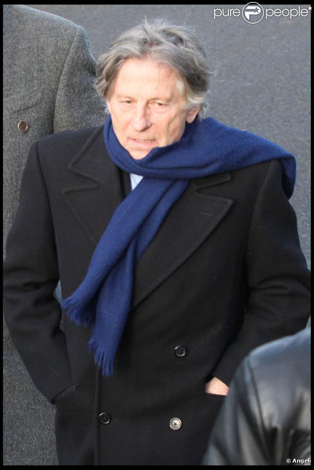 L'arrivée de Roman Polanski dans son chalet de Gstaad, le 4 décembre 2009.
