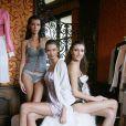 La belle Emmanuelle de  Top Model , ravissante en défilé lingerie.