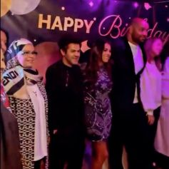 Jamel Debbouze a assisté à l'anniversaire de son beau-frère Fouad Ben Kouider, le fiancé de sa soeur Nawel Debbouze. Paris, le 2 octobre 2021.