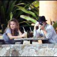 Colin Farrell et sa petite amie Alicia Bachleda