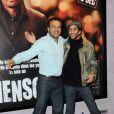 Steve Suissa et Nicolas Cazalé lors de l'avant-première de  Mensch  à Paris le 8 décembre 2009.