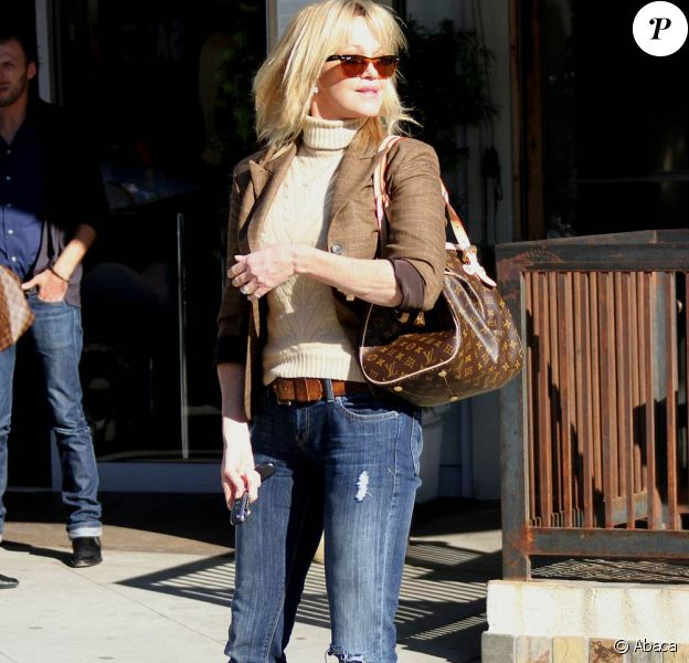 Melanie Griffith à Los Angeles, le 8 décembre 2009