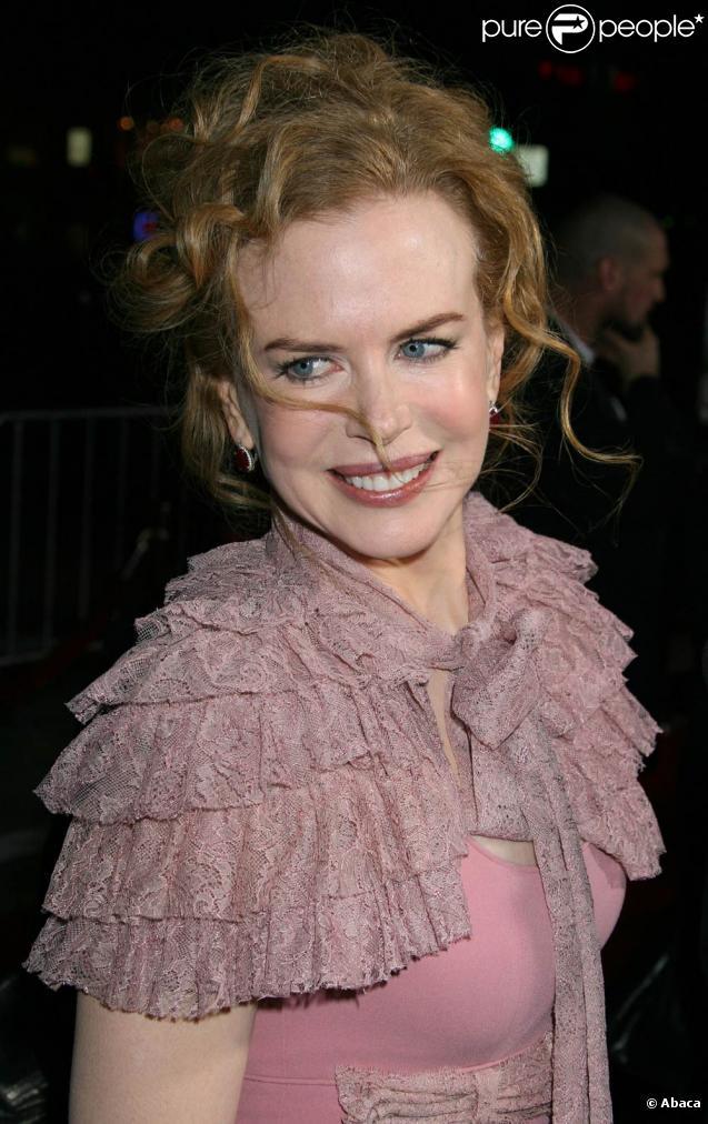 Nicole Kidman, à l'occasion de l'avant-première de  Nine , qui s'est tenue au Mann's Village Theatre de Los Angeles, le 9 décembre 2009.