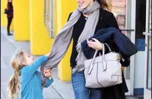Jennifer Garner : Un look pas terrible mais une adorable petite Violet... plus chipie que jamais !