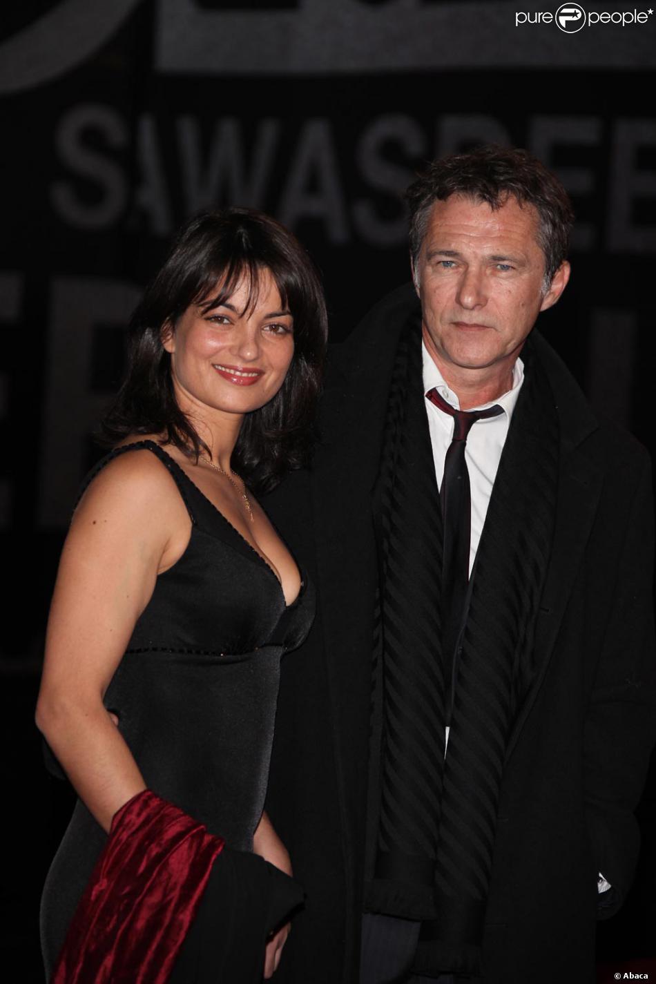 bruno wolkowitch et sa femme la c r monie de cl ture du festival de marrakech le 12 12 09. Black Bedroom Furniture Sets. Home Design Ideas