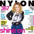 Hilary Duff en couverture de  Nylon  pour le mois de janvier 2010