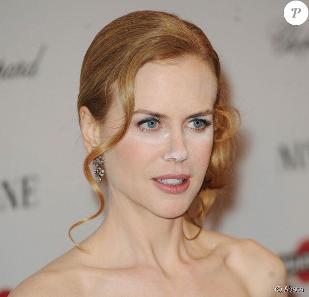 Nicole Kidman, à New York, présente le film Nine. 15/12/2009