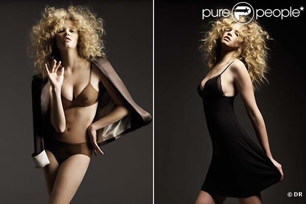 La ravissante Lara Stone pour la nouvelle collection hiver 2009-2010 de la marque ERES.